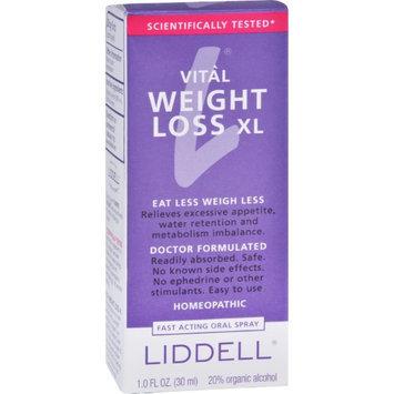 Liddell Laboratories Liddell Homeopathic Weight Loss XL - 1 fl oz - HSG-976621