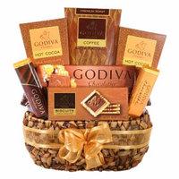 Alder Creek Gifts Godiva Coffee Delights Gift Basket, 1 ea