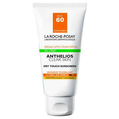 Anthelios 60 Clear Skin Dry Touch Sunscreen - 6 oz