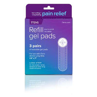 iTENS Long Strip Refill Gel Pads (3 pairs)