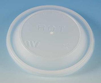 WINCUP FL8D Disposable Lid, Dome-Vented, Trans, PK1000
