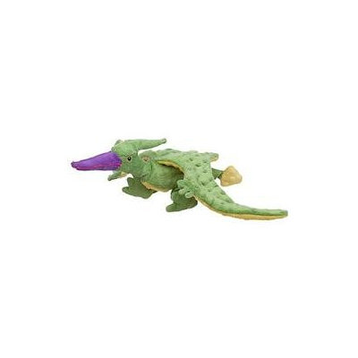Sherpa Pet Group Sherpa Go Dog Terry the Lime Pterodactyl Dog Toy