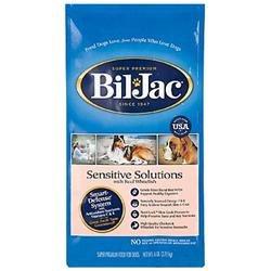 BIL-JAC SENSITIVE SOLUTIONS DOG FOOD 30 POUND