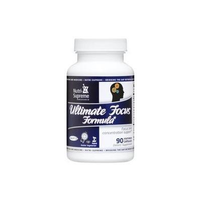 Nutri-Supreme Research The Ultimate Focus Formula - 90 Vegetarian Capsules