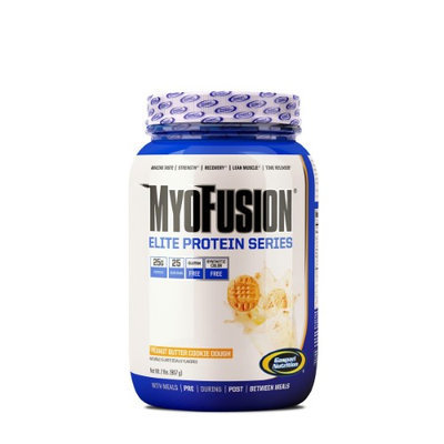 Gaspari Nutrition, Myofusion Elite Peanut Butter Cookie Dough 2lbs