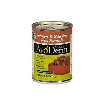 Bangalla AvoDerm Natural Salmon & Wild Rice Stew Adult Canned Dog Food