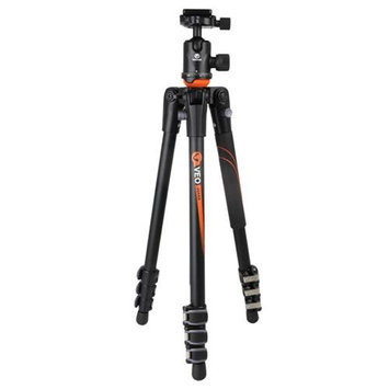 Vanguard VEO 204AB 4 Section Aluminum Tripod with TBH-50 Ball Head, 8.82lbs Capacity, 53.15
