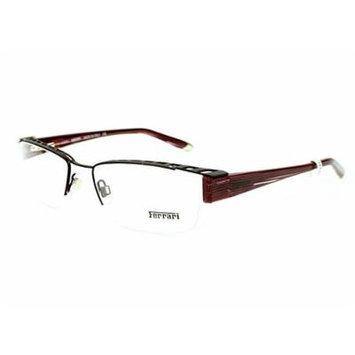 Ferrari Eyeglasses frame FR 5038 217 Metal - Acetate Antique Pewter