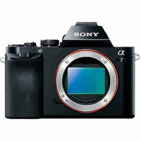 Sony Black Alpha a7 ILCE-7K/B Digital SLR Camera with 24.3 Megapixels and 28-70mm Lens Included