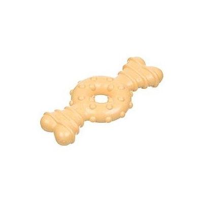 Nylabone Durachew Textured Ring Bone Chicken Dog Toy