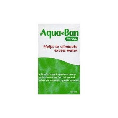 Aquaban Herbal Diuretic Tablets 60 [Health Care]
