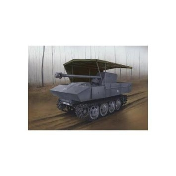 Dragon Models PaK 40/4 Auf RSO Mit Allwetterverdeck - Smart Kit (1/35 Scale), 7.5cm