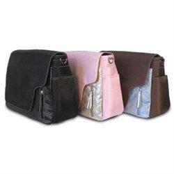 Amy Michelle Seattle Messenger Diaper Bag - Black