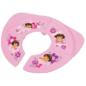 Dora Let's Go Folding Potty Seat