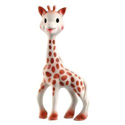 Vulli Sophie the Giraffe Teether in Natural Rubber