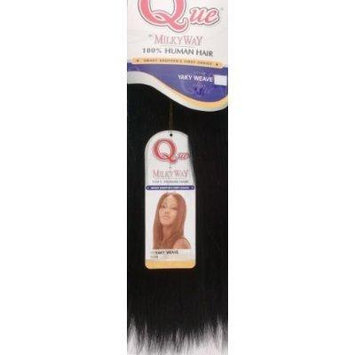 MILKYWAY HUMAN HAIR QUE YAKY WEAVE 12