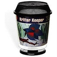 Topdawg Pet Supply Lees Aquarium & Pet Kritter Keeper Round Fish Home