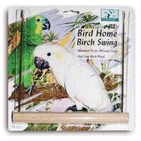 Prevue Pet Products BPV206 9 in. Birch Swing - Brass