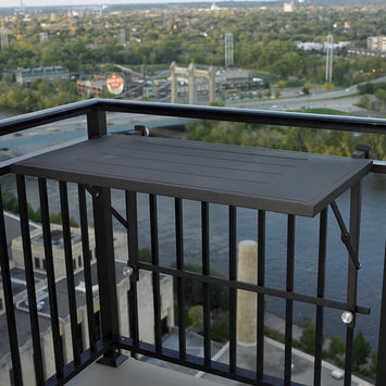 Outdoor Greatroom Company GS RM Deck Rail Mount Grill Shelf