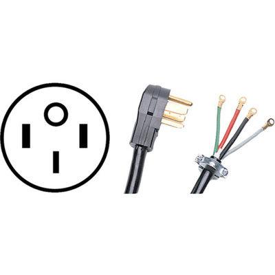PETRA Petra 4-Wire Range Cord, 40A, 6'