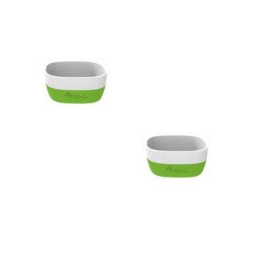 ZoLi NOSH Ceramic Bowls Set of 2 - Green