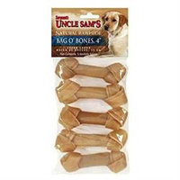 Sergeant's Pet Products Bag O' Bones 4In 5 Count 47379 by Sergeant's Pet