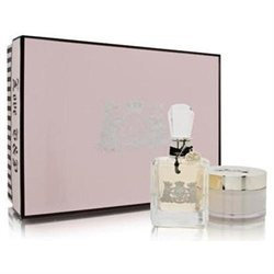 Juicy Couture by Juicy Couture for Women - 3.4oz EDP 6.7oz Cream Set