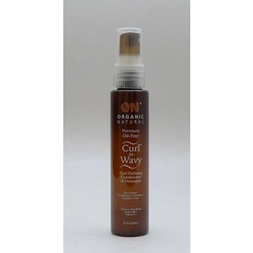 On Organic Natural Curl-N-Wavy Curl Defining Conditioner & Detangler Argan Tree 2 oz