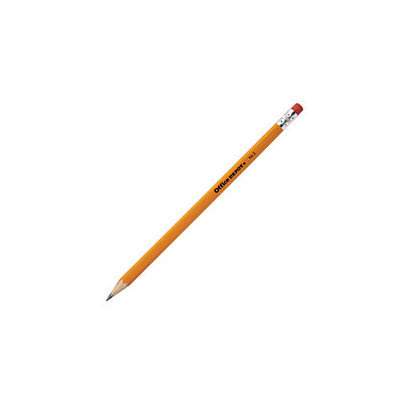 Office Depot Brand Wood Pencils, HB Lead, Pack Of 12