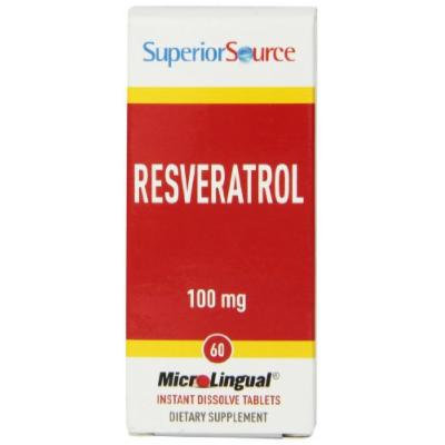 Superior Source Resveratrol Nutritional Supplements, 100 mg, 60 Count