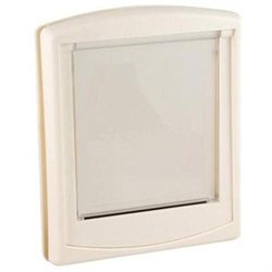 Staywell Small White Clear Hard Door Flap