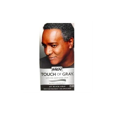 Just For Men Touch Of Gray, Jet Black/Gray, 2 Pack