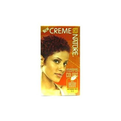 Creme Of Nature Hair Color, Intensive Red 7.6