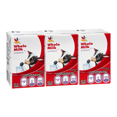 Ahold Whole Milk - 3 CT