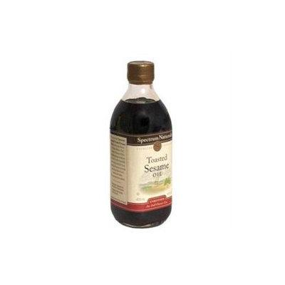 Spectrum Diversified SPECTRUM NATURALS Toasted Unrefined Sesame Oil 16 OZ
