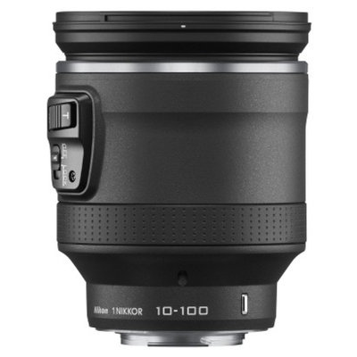Nikon 1 Nikkor 10-100mm f/4.5-5.6 VR Zoom Lens - Black