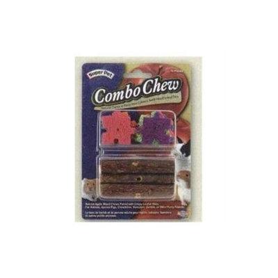 Super Pet Combo Apple Wood & Crispy Puzzle Small Animal Chew Toy