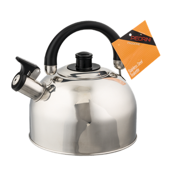 Pedrini Stainless Steel Teakettle