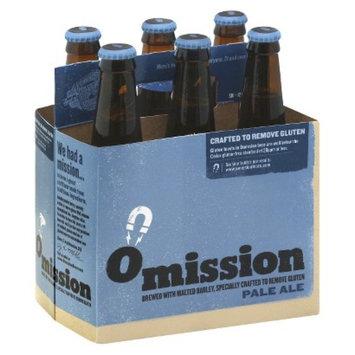 Anheuser Busch Omission Pale Ale Bottles 12 oz, 6 pk
