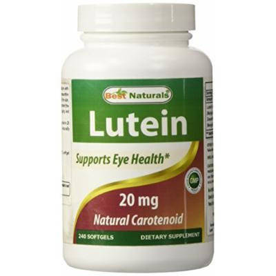 Best Naturals Lutein, 20 mg with Zeaxanthin, 240 Softgels
