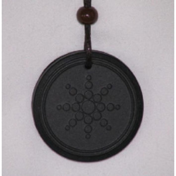 Quantum Value A Scalar Energy Store's Scalar Energy Pendant w/Neg Ion Charge Silicone Protection Ring