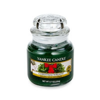 Yankee Candle Christmas Wreath Small Candle Jar