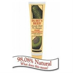 Burt's Bees Avocado Butter Pre-Shampoo Hair Treatment, 4.3 oz