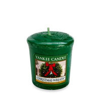 Yankee Candle Christmas Wreath Single Votive #YANK-VOT-CHRISTW - Yankee Votive Candles