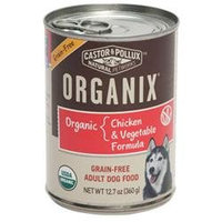 Best Friend Products Corp Organix GF Can Dog Food 12 Pack Chicken/Vegetable