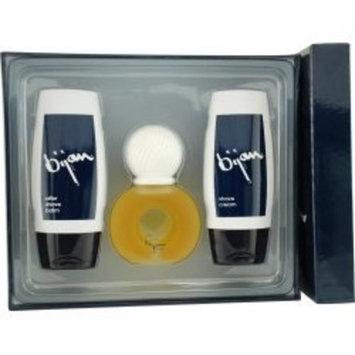 BIJAN by Bijan SET-EDT SPRAY 2.5 OZ & AFTERSHAVE BALM 3.3 OZ & SHAVE CREAM 3.3 OZ for MEN