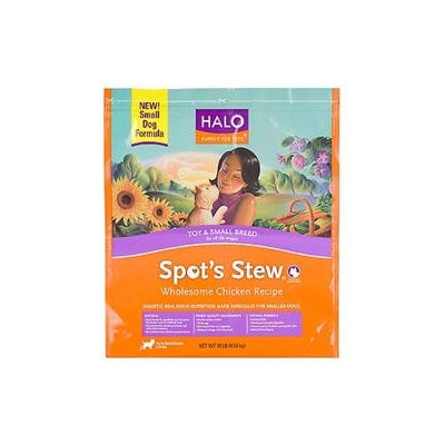 Phillips Feed & Pet Supply Halo Spots Stew Small Breed Dry Dog Food 10lb