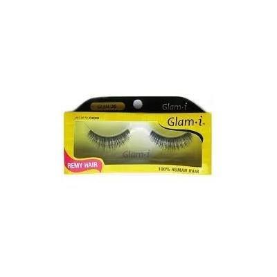 Glam i Remy Hair 100% Human Hair Eyelashes (Pack of 6)- Glam 20