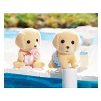 Calico Critters Yellow Labrador Twins - 1 ct.
