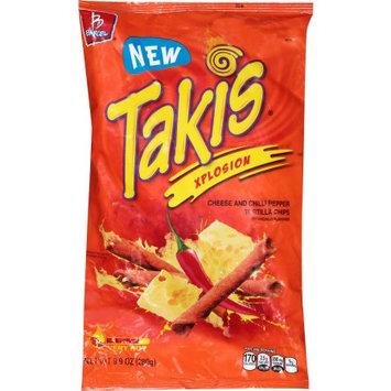 Barcel Takis Xplosion Tortilla Chips, 9.9 oz